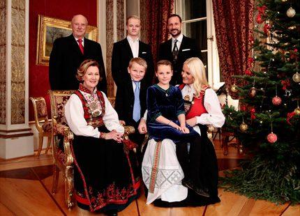 Julfotografering på slottet