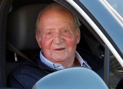 Kung Juan Carlos fyller 76 år