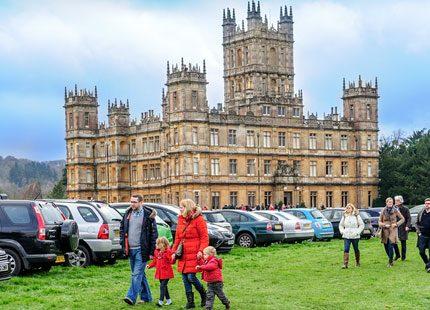 Slottspecial - Downton Abbey på riktigt