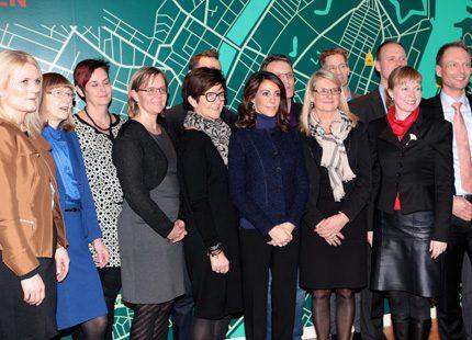 Prinsessan Marie besökte International House Copenhagen
