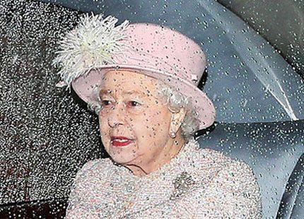 Dyra reparationer för drottning Elizabeth