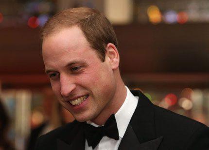 Bildspel! Rökigt party <br>för prins William