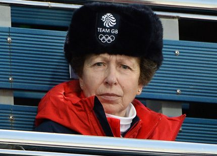 Fler kungligheter som tittar på OS...