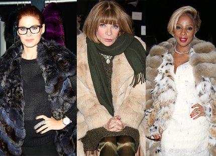 Påpälsat vimmel från modeveckan i New York och andra festligheter