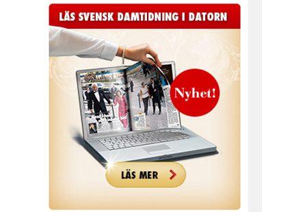 Nu kan du läsa din Svensk Damtidning på nätet