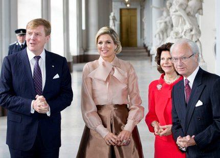 Kungaparet ska hälsa på hos Máxima och Willem-Alexander