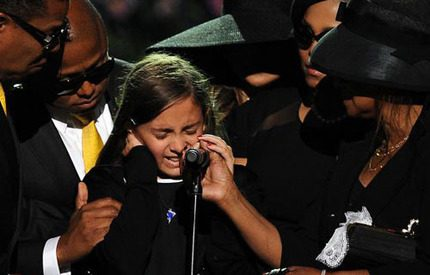 Jacksons dotter i tårar: Jag älskar dig så mycket pappa!