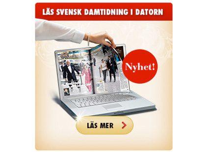Nu kan du läsa Svensk Damtidning i datorn
