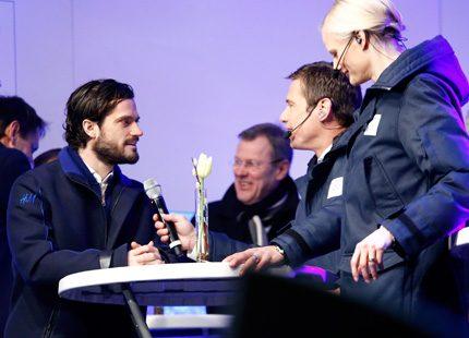 Prins Carl Philip hyllade OS-hjältar