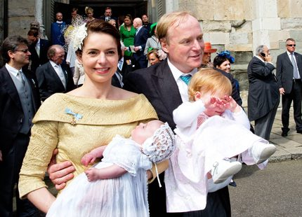 Fint dop i helgen med kunglig glans