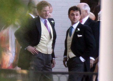 Prins Harry: Jag har sett prins Georges härliga leende