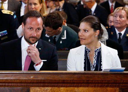Haakon på seminarium och konsert i Stockholm