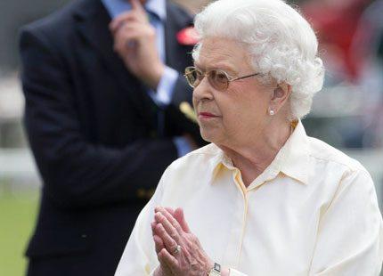 Julfirandet har börjat för drottning Elizabeth