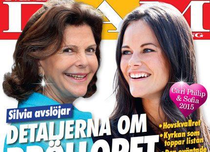 Nytt nummer ute nu: Drottning Silvia - världens yngsta 70-åring!