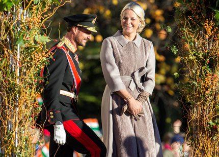 Kronprinsessan Mette-Marits intensiva vecka