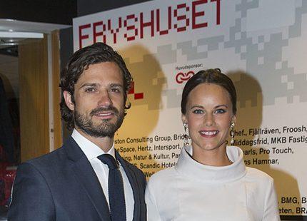 Carl Philip och Sofia delade ut ärofyllt pris