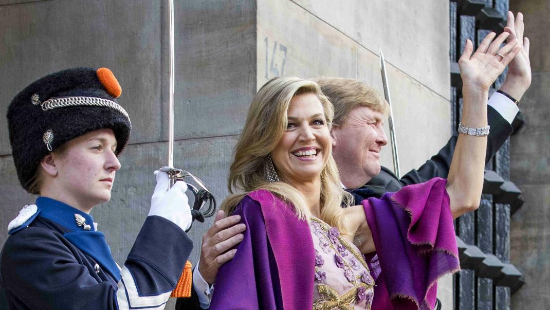 Det bar Máxima på Willem-Alexanders stora dag