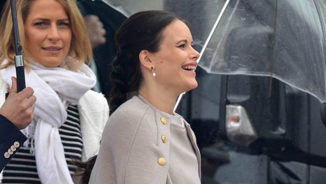 Prinsessan Sofia valde ny cape