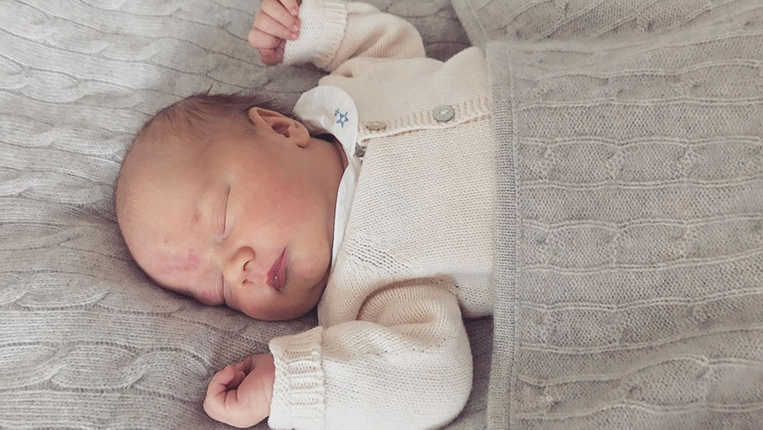 Prins Gabriels söta babyoutfit