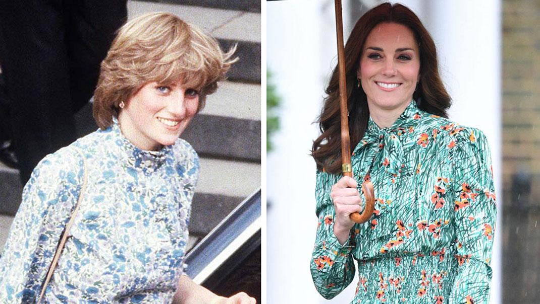 Kate hedrar prinsessan Dianas stil
