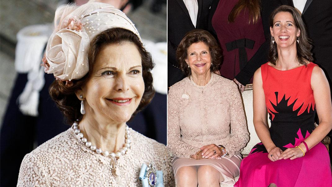 Drottning Silvia i Valentino