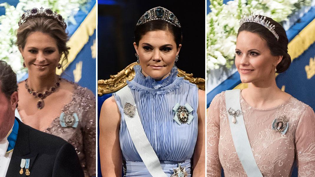 Prinsessornas Nobelklänningar