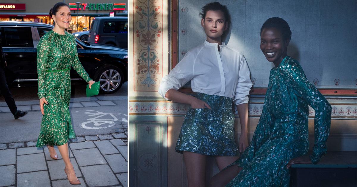 Victoria i H&M Conscious Exclusive