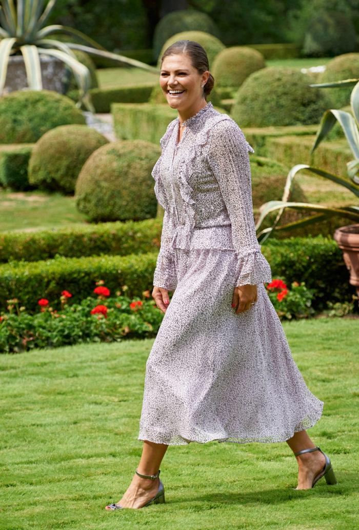 Kronprinsessan i märket Zadig   Voltaire under sin födelsedag 2018. a0ee49e7359ae