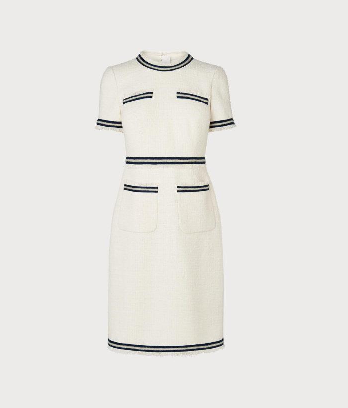 """""""Susanna cream cotton dress"""" från L.K.Benett."""