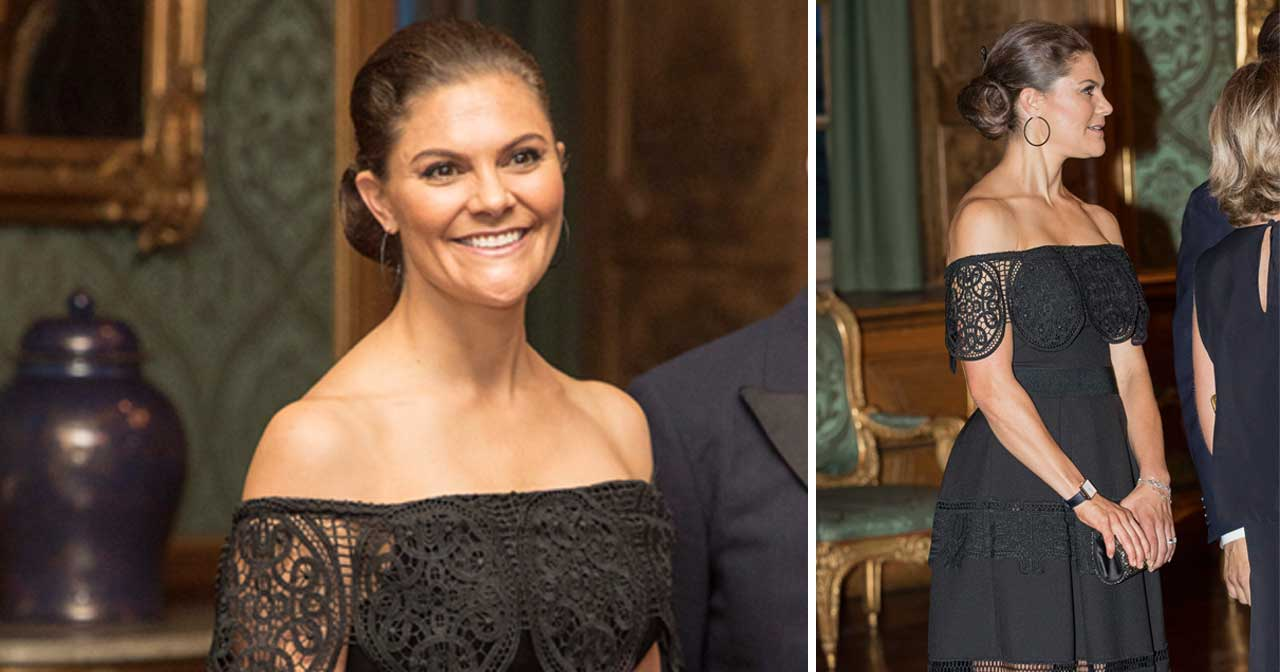Köp Victorias svarta klänning från By Malina här!