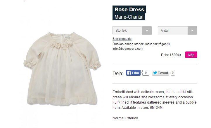 Leonores klänning