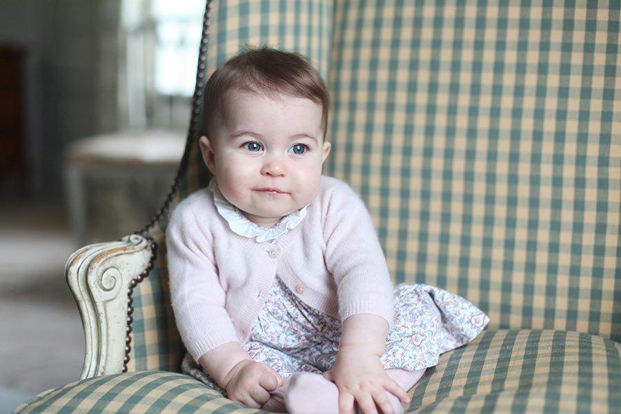 Prinsessan Charlottes klänning