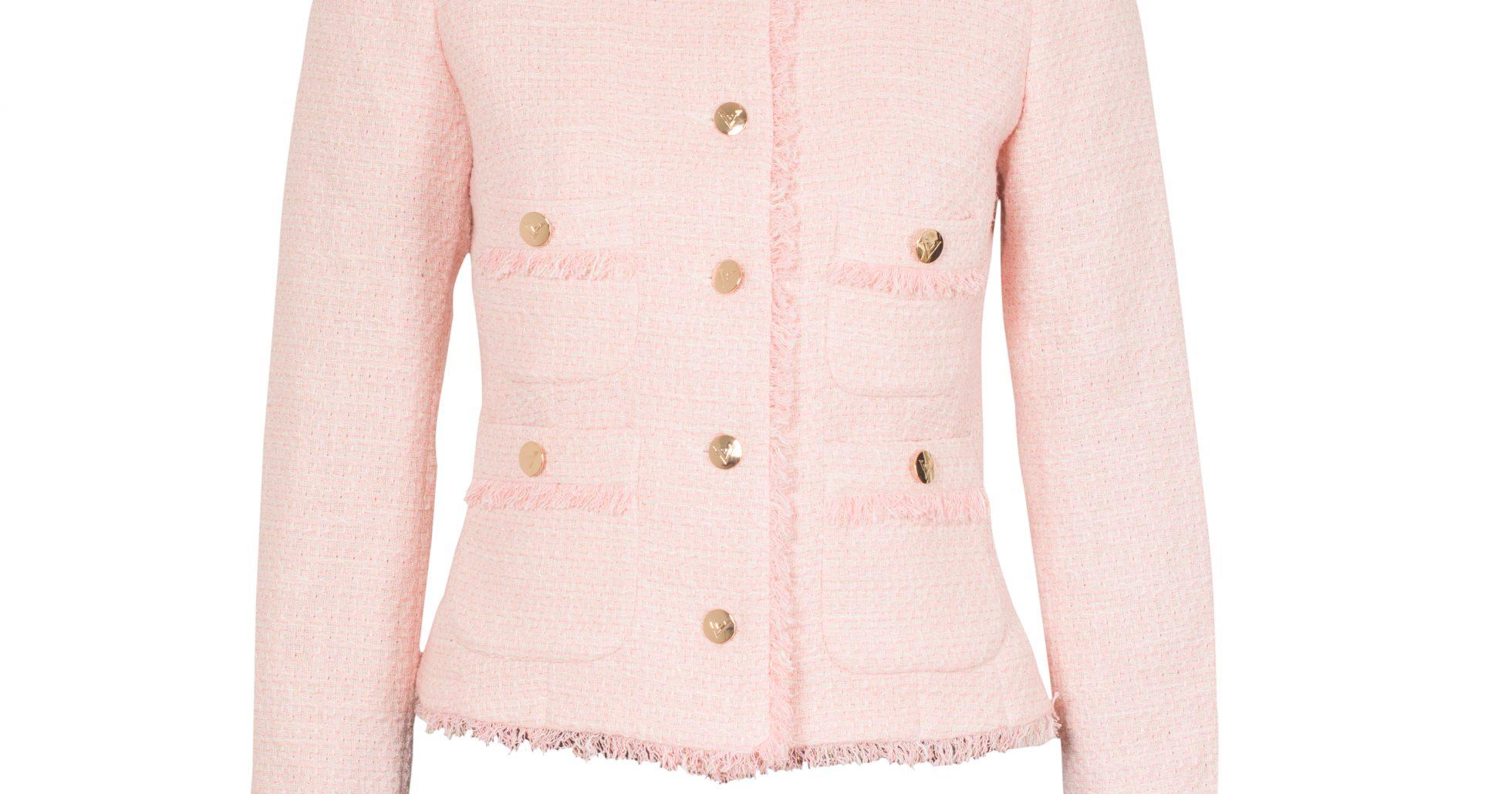 Victorias rosa jacka