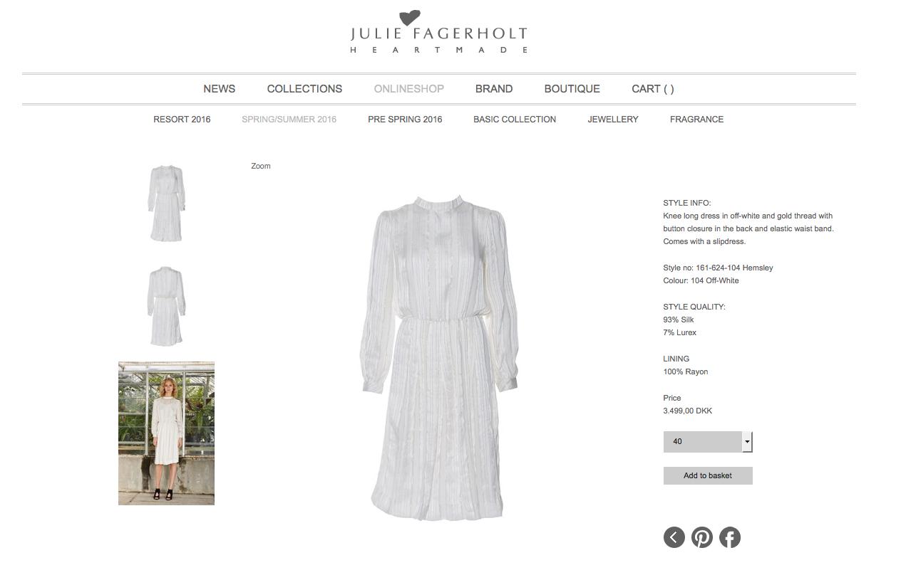 Marys vita klänning