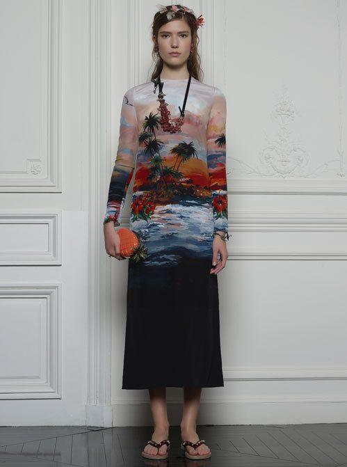Máximas vackra klänning