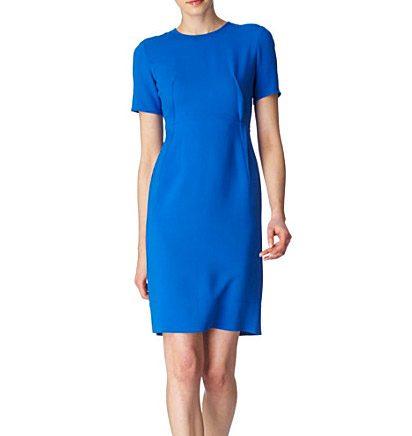 Kates blå klänning