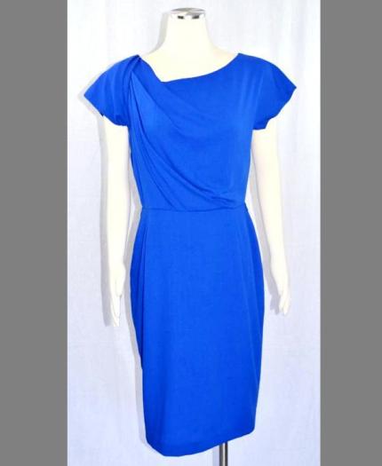 Victorias blå klänning - från Escada
