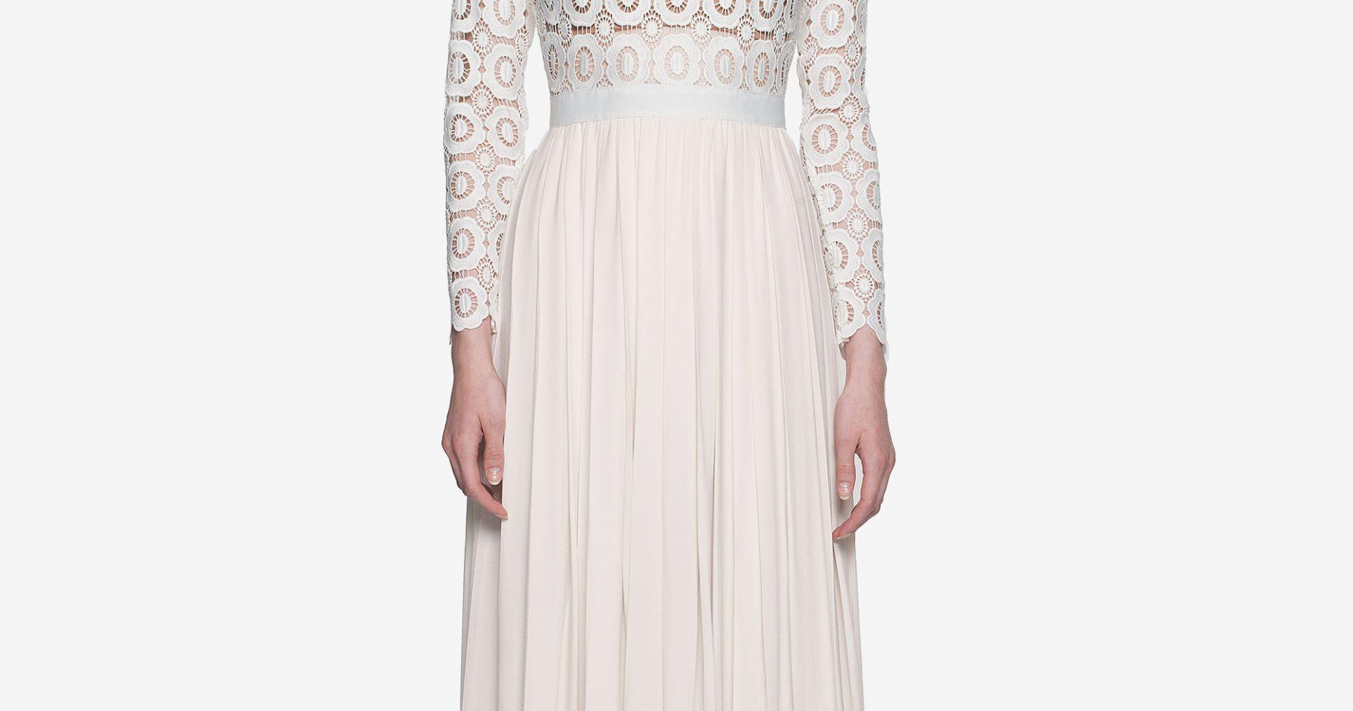 Kates vita klänning
