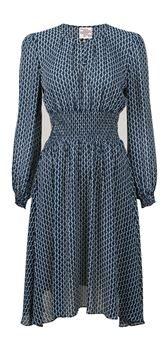 Victorias blå klänning