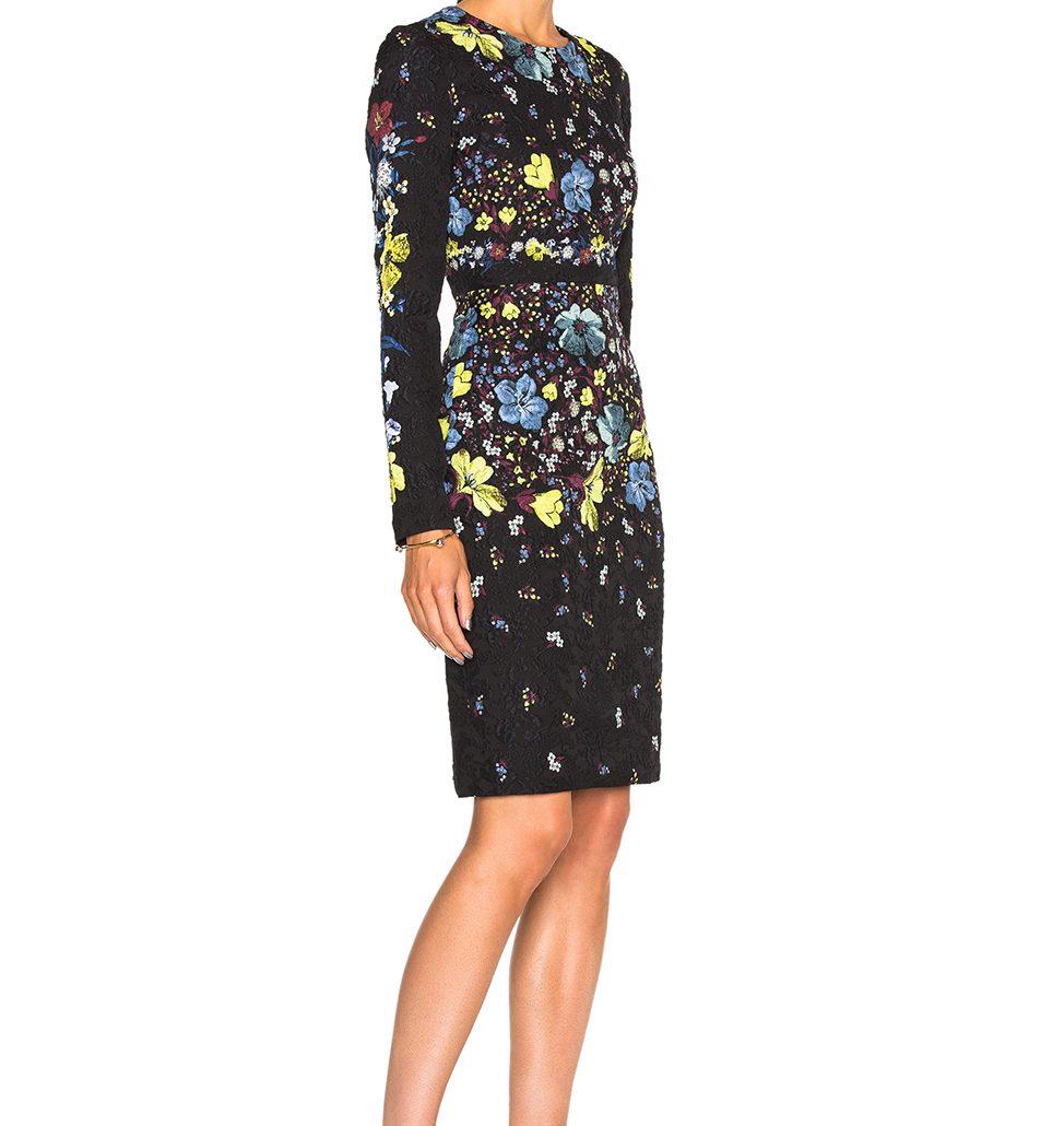 Kates blommiga klänning