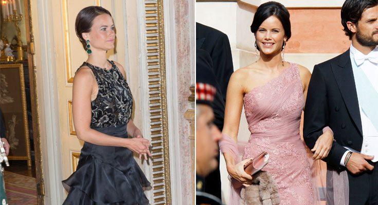 Prinsessan Sofias vackraste galaklänningar!