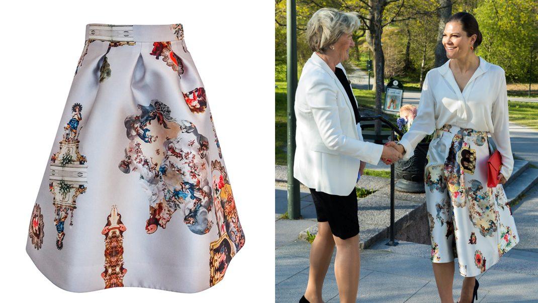 Kronprinsessan lyfter ny svensk designer