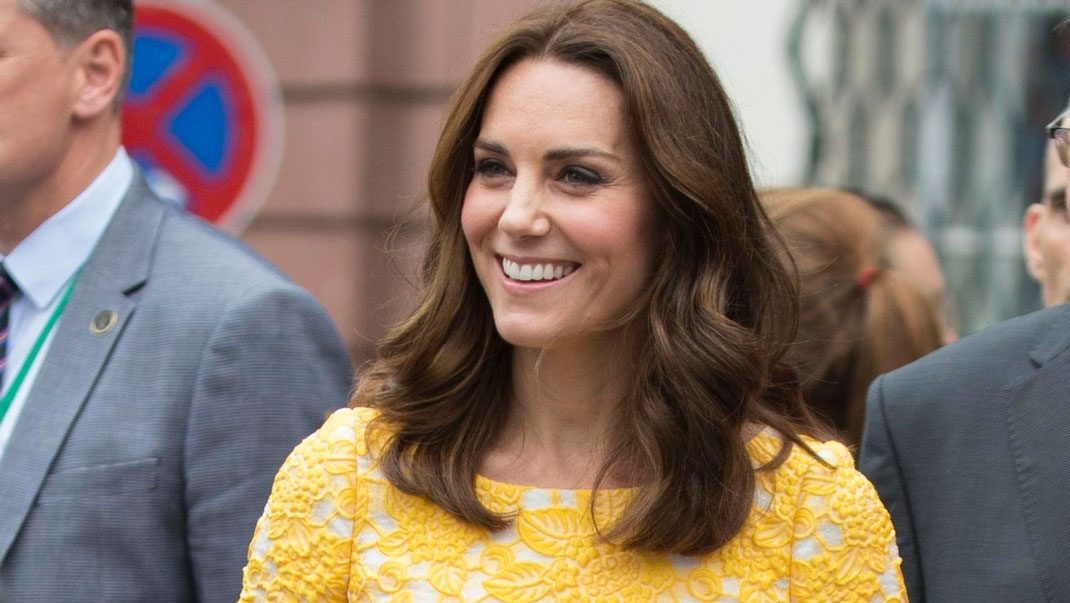 Kate i favoriten Jenny Packham
