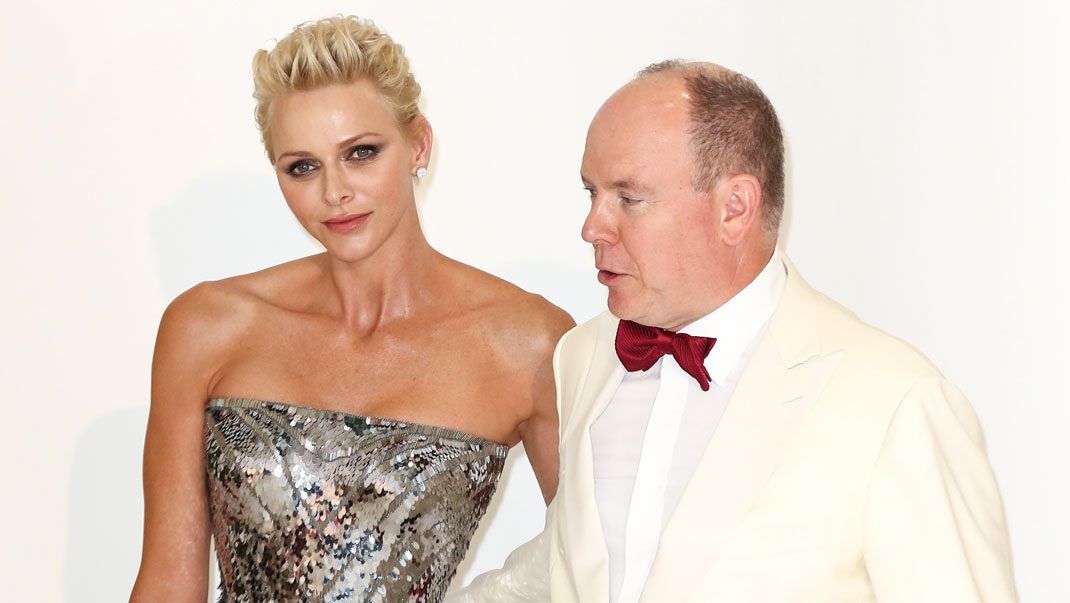 Charlene i Versace