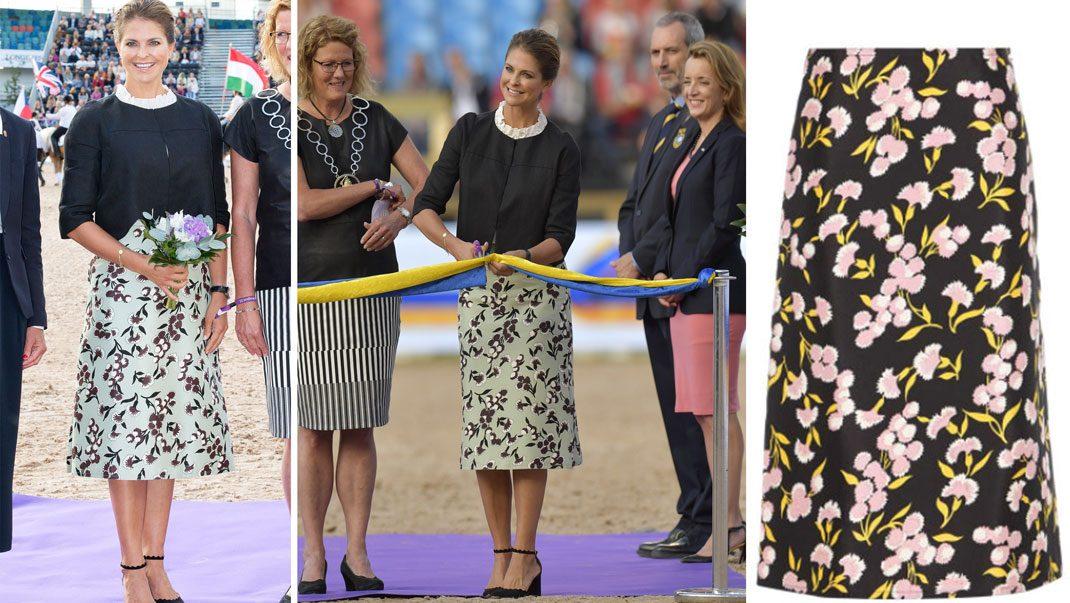 Madeleine i ljuvlig kjol