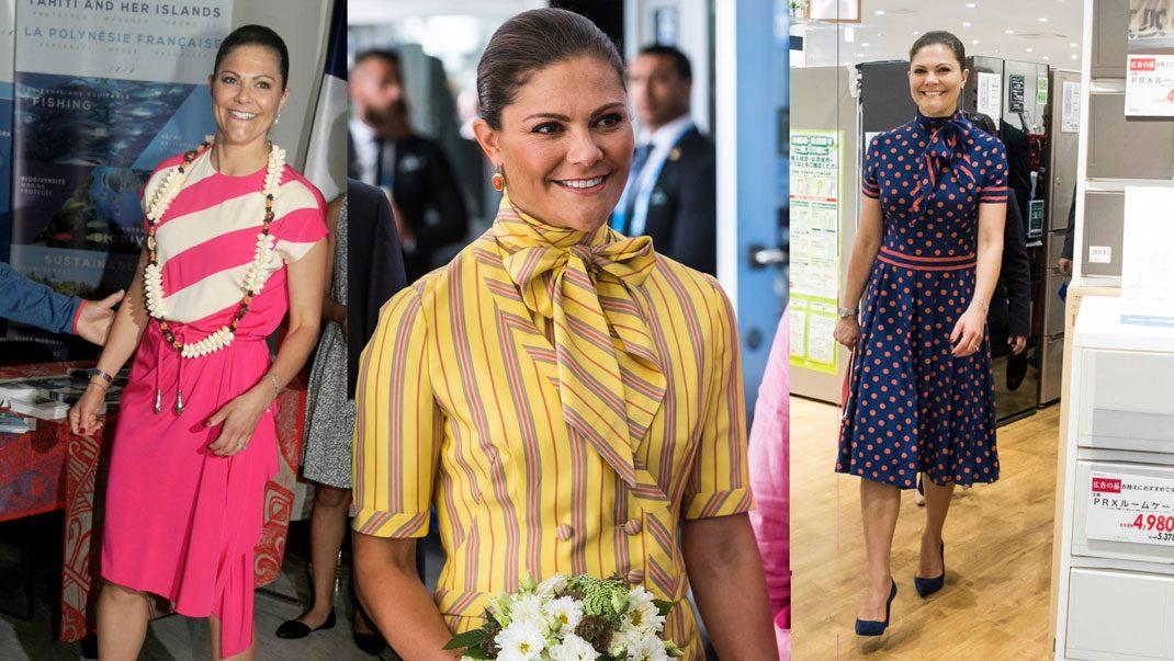 Bildextra! Victoria i Silvias klänningar