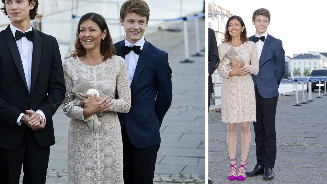Alexandra i klänning från DAY Birger et Mikkelsen