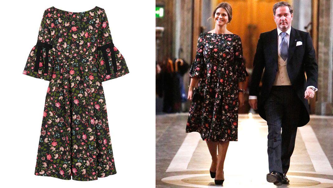 64c12a23a8f Madeleine i klänning från Erdem | Kungliga modebloggen