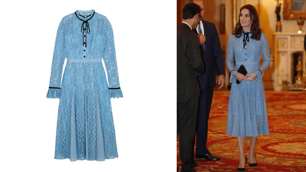Kate i klänning från Temperley