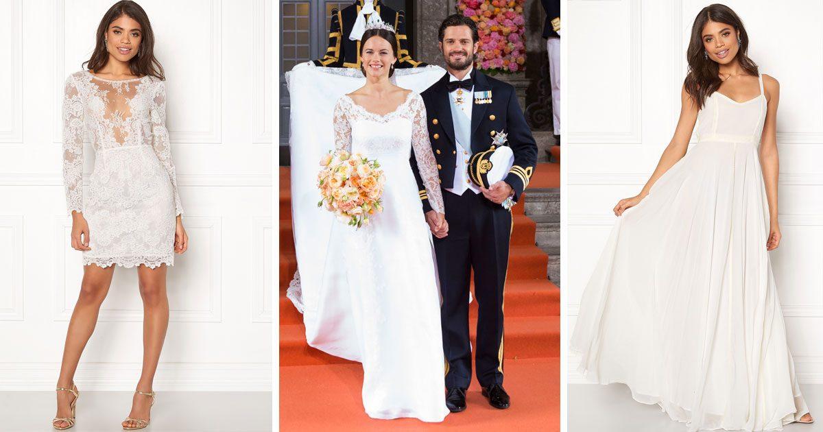 Få prinsess-looken på ditt bröllop – 5 brudklänningar till budgetpris